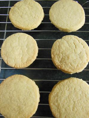 Shortbread biscuits